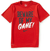Nike Big Boys 8-20 Beware Of My Game Graphic Tee
