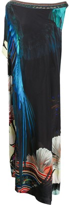 Camilla Night Flight-print silk dress