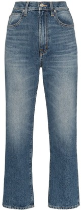 SLVRLAKE London cropped straight-leg jeans