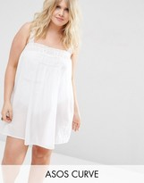 Asos Lace Insert Cami Cover Up