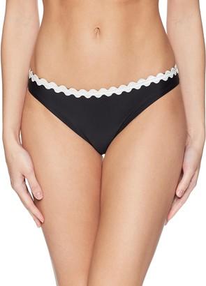 Shoshanna Women's Solid Black Classic Bottom XL