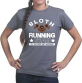 Customised Perfection Sloth Training Running Sports Fitness Funny Gym Ladies