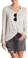 Volcom Second Chance Striped Hooded Tee