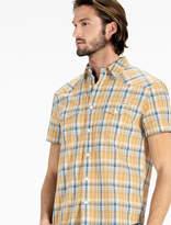 Lucky Brand Short Sleeve San Gabriel Western Shirt
