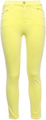 J Brand Flashlight Neon High-rise Skinny Jeans