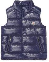 Moncler Quilted Snap Vest