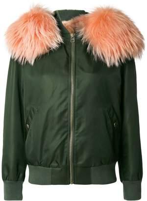Mr & Mrs Italy hooded bomber jacket