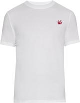 McQ by Alexander McQueen Swallow-badge crew-neck T-shirt