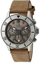 Burgmeister Men's BM532-910 Analog Display Quartz Beige Watch