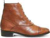 Office Barnaby brogue leather boots