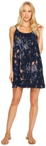 Roxy Windy Fly Away Print Dress Cover-Up Women's Swimwear