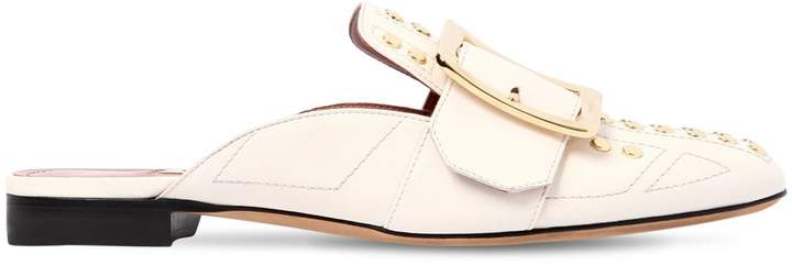 Bally 10mm Janesse Studded Leather Mules