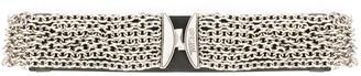 Just Cavalli logo chain-link belt