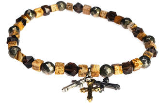 Jean Claude Dell Arte Gemstone Spiritual Bracelet