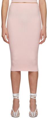 giu giu Pink Nonna Tube Skirt