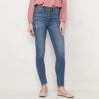 Lauren Conrad Women's Feel Good High-Rise Skinny Jeans
