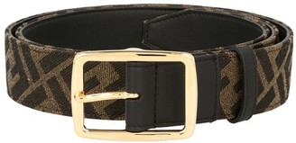 Fendi Ff Canvas Belt