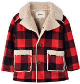 Hatley Regular Fit Plaid Faux Sherpa Jacket
