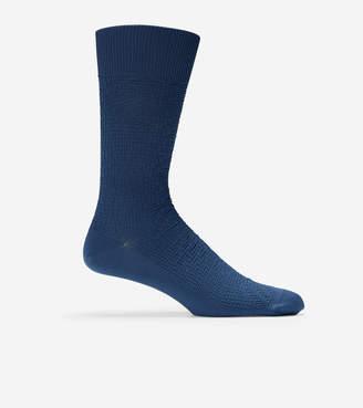 Cole Haan Distorted Texture Crew Socks