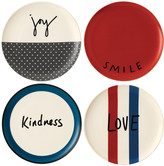 Royal Doulton Ellen DeGeneres Joy Plates - 21cm - Set of 4