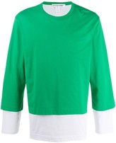 Comme des Garcons layered long sleeve T-shirt