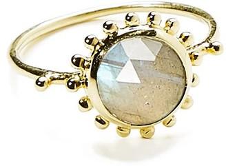 Agnes de Verneuil Sun & Stone Ring 7Mm - Gold