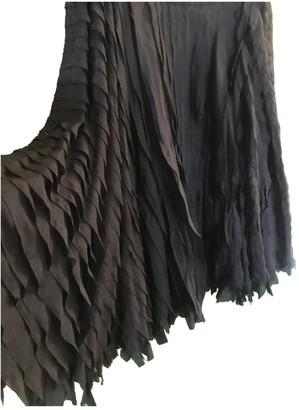 DKNY Blue Silk Skirt for Women