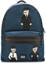 Dolce & Gabbana 'Vulcano' Sicilian Men patch backpack