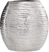 Simply Designz Decor, Metallic Oval Vase