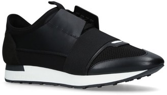 Balenciaga Leather Race Runner Sneakers