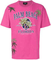Creatures of the Wind Palm Beach print T-shirt