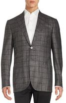 Corneliani Cashmere Blend Long Sleeve Jacket