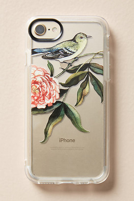 Casetify Vintage Bird iPhone Case By in Grey Size S