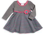 Iris & Ivy Girls 2-6x Quilted Mixed Pattern Dress