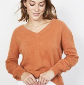 MARIE SIXTINE - Edward Sweater - XS | wool | caramel - Caramel