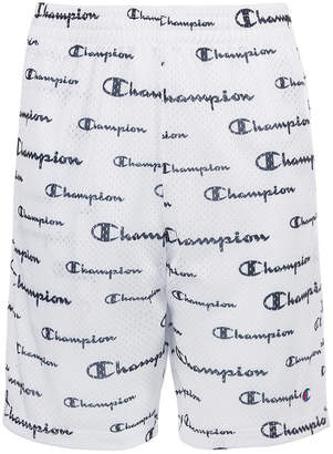 Champion Big Boys Script Mesh Shorts