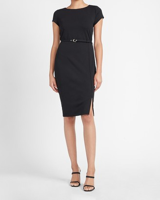 Express Belted Sheath Dress