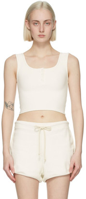 Gil Rodriguez SSENSE Exclusive Thermal Henley Tank Top