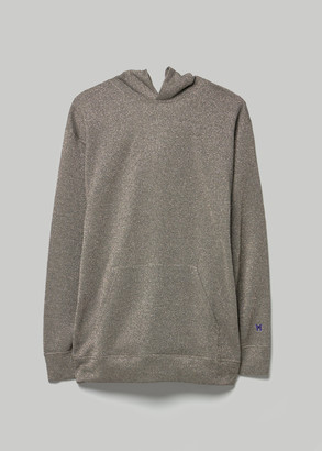 Needles Men's Classic Hoodie in Charcoal Size Small