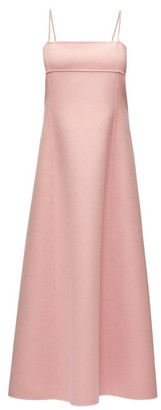 The Row Sylvia Square-neck Cashmere Dress - Light Pink
