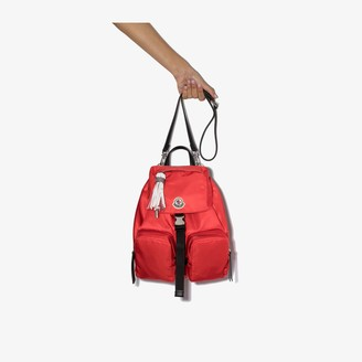 Moncler Red Dauphine Large Backpack