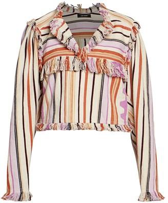 Isabel Marant Cabaca Summer Blanket Top