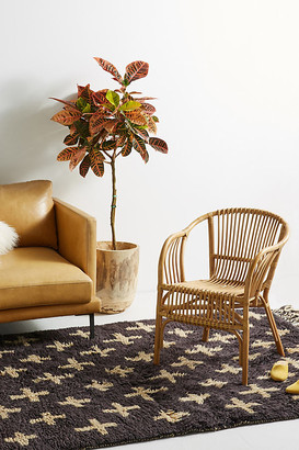 Anthropologie Pari Rattan Chair By in Beige Size ALL