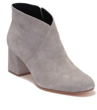 Via Spiga Marielle Suede Block Heel Boot