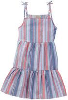 Lucky Brand Striped Tiered Dress (Big Girls)