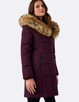 Forever New Bessie Puffa Coat