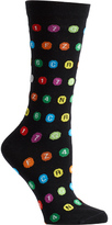 Ozone Women's Subway Dots Socks (2 Pairs)