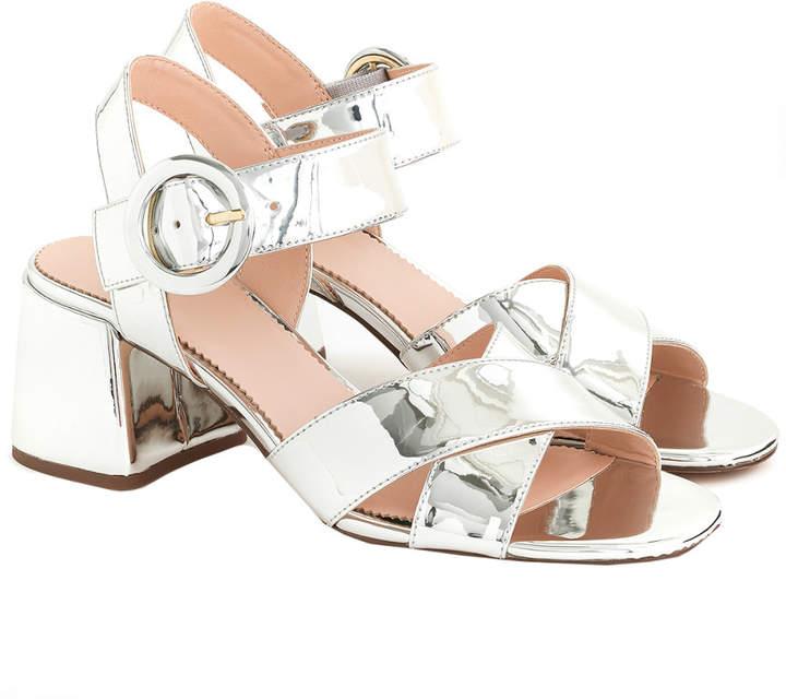 17e21430440 Metallic Penny Sandal