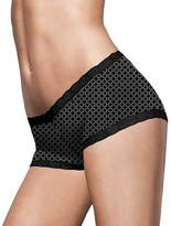 Maidenform Microfiber and Lace Boyshort__