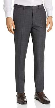 HUGO Hesten Glen Plaid Extra Slim Fit Suit Pants